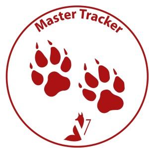 Master Tracker (rood, zonder schaduw)